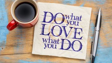 Love what you do graphic